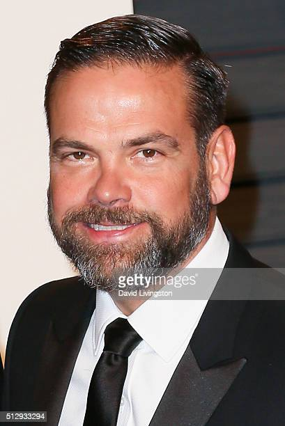 News Corp Lachlan Murdoch arrive at the 2016 Vanity Fair Oscar Party Hosted by Graydon Carter at the Wallis Annenberg Center for the Performing Arts...