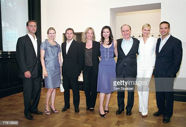 News Corporation Chairman and CEO Rupert Murdoch photographed with his nearest and dearest at a private family gathering in London's National...