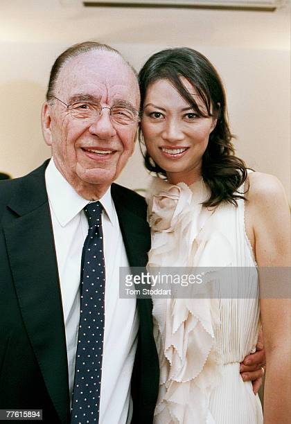 News Corporation Chairman and CEO Rupert Murdoch with his wife Wendi at Mr Murdoch's annual Summer Party which was held at the Serpentine Gallery in...