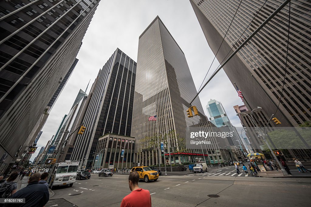 News Corporation headquarters, New York City, United States : Foto de stock