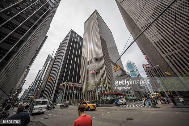 news corporation headquarters, new york city, united states - sixth avenue stock pictures, royalty-free photos & images
