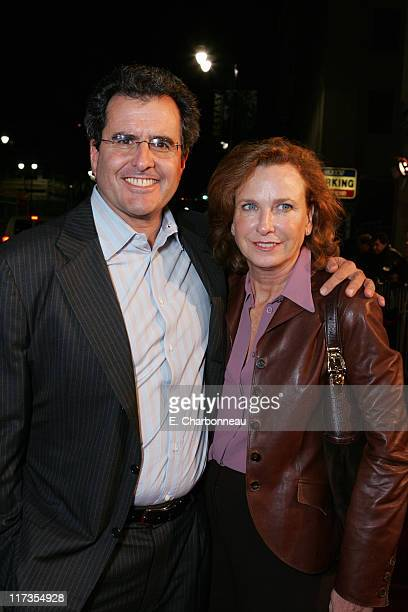 News Corp's Peter Chernin and Megan Chernin during 'I Walk the Line A Night for Johnny Cash' Hosted by 20th Century Fox at The Pantages Theater in...