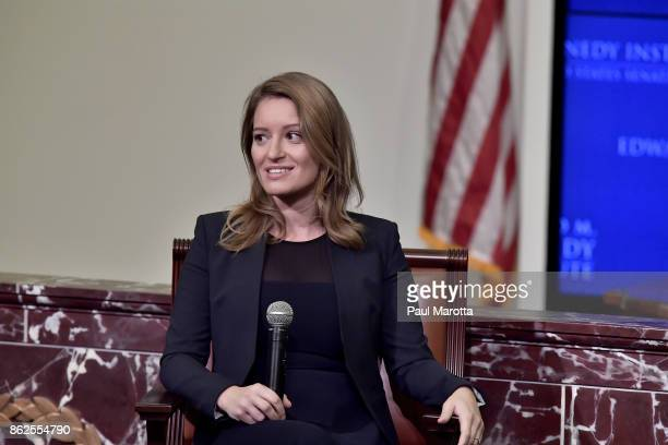 News Correspondent and MSNBC Anchor Katy Tur is interviewed by NPR's Robin Young about Tur's new book Unbelievable My Front RowSeat to the Craziest...