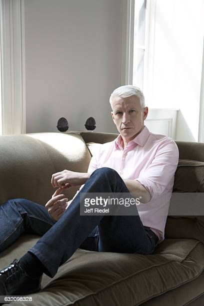 News correspondent Anderson Cooper is photographed for People Magazine on March 16 2016 in New York City