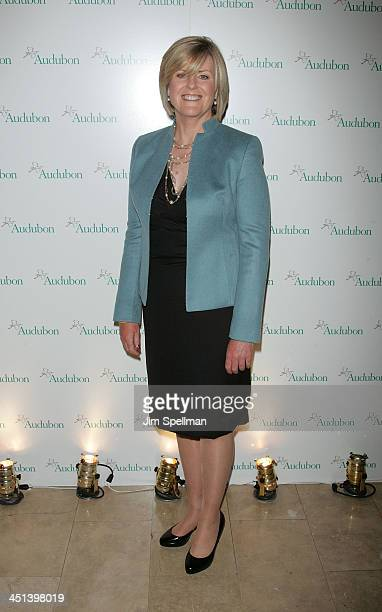 NBC News Correspondent Anne Thompson attends the 7th Annual National Audubon Society's Women In Conservation luncheon at The Plaza Hotel on May 18...