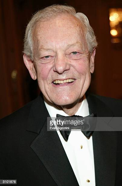 CBS News Correspondent Bob Schieffer attends the International Radio And Television Society Foundation's 2004 Gold Medal Dinner honoring the...