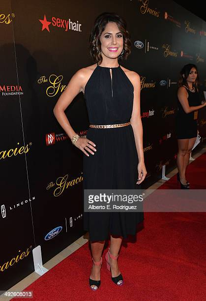 News correspondent Cecilia Vega arrives to the 39th Gracie Awards Gala at The Beverly Hilton Hotel on May 20 2014 in Beverly Hills California