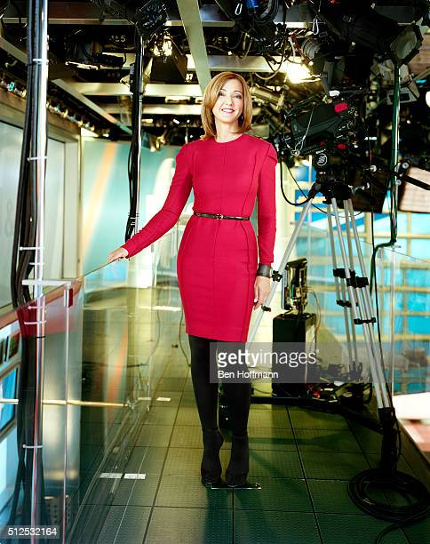 News correspondent Chris Jansing is photographed for More Magazine on August 9 2012 in Washington DC PUBLISHED IMAGE