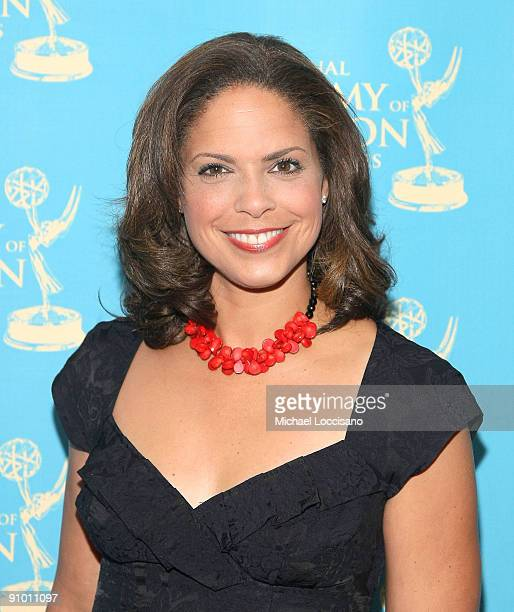 News correspondent Soledad O'Brien attends the 30th annual News Documentary Emmy Awards at Frederick P Rose Hall Jazz at Lincoln Center on September...