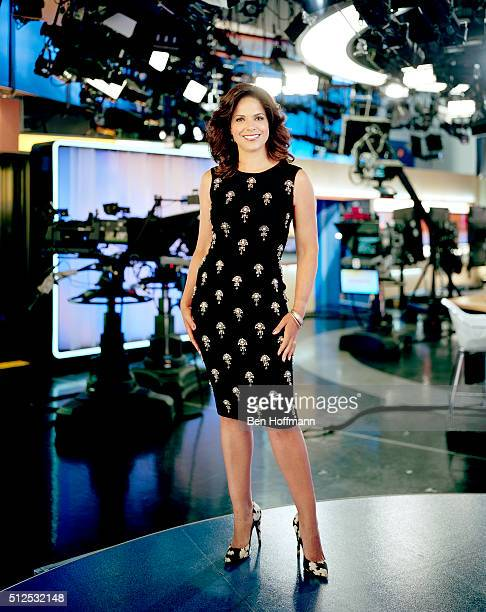 News correspondent Soledad O'Brien is photographed for More Magazine on August 5 2012 in Washington DC