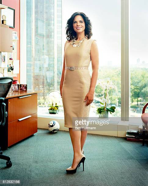 News correspondent Soledad O'Brien is photographed for More Magazine on August 5 2012 in Washington DC PUBLISHED IMAGE