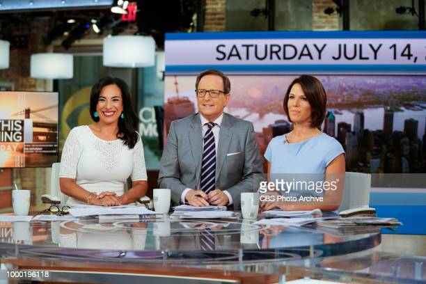 News correspondents Michelle Miller and Dana Jacobson join Anthony Mason as permanent cohosts on CBS THIS MORNING SATURDAY