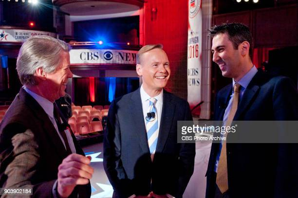 News Debate Moderator and FACE THE NATION anchor John Dickerson and Kimberley Strassel of the Wall Street Journal comment as bout the upcoming CBS...