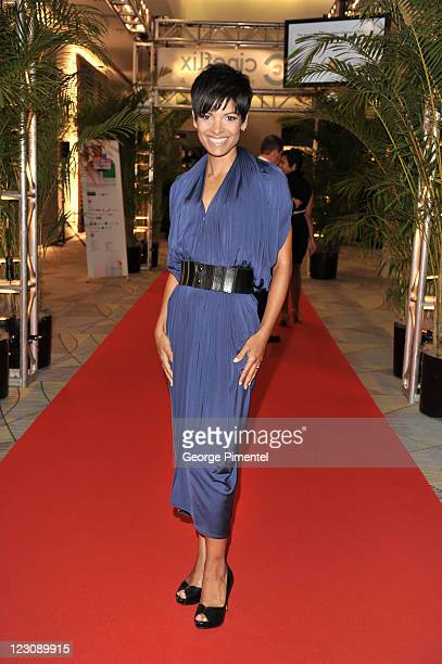 News host AnneMarie Mediwake attends the 26th Annual Gemini Awards Industry Gala at the Metro Toronto Convention Centre on August 30 2011 in Toronto...