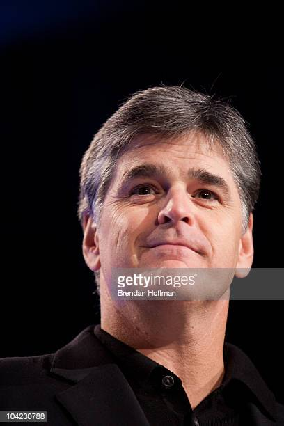 News host Sean Hannity speaks at the Values Voter Summit on September 17 2010 in Washington DC The annual summit drew nearly two thousand people to...