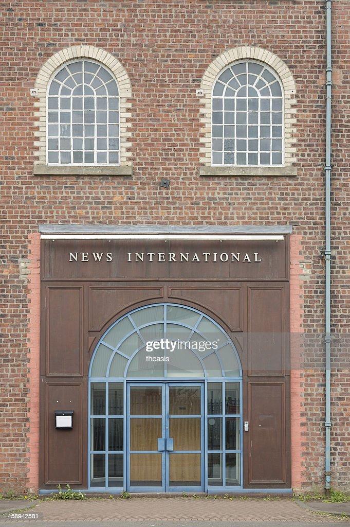 News International Building, Glasgow : Stock Photo