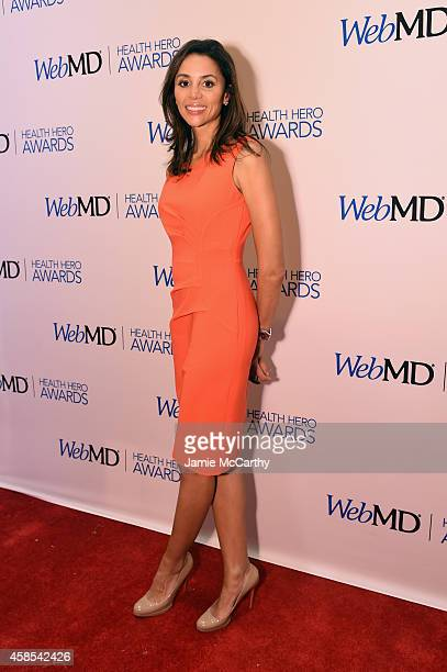 News Medical Contributor Dr Holly Phillips arrives at the 2014 Health Hero Awards hosted by WebMD at Times Center on November 6 2014 in New York City