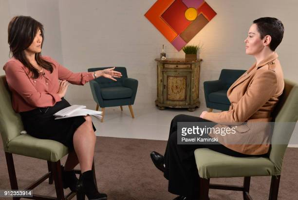 News Nightline coanchor Juju Chang sat down for an extensive interview with Rose McGowan about her new book Brave and McGowans allegations that...