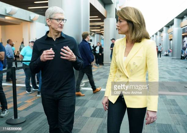 News' Norah O'Donnell the incoming anchor and managing editor of the CBS EVENING NEWS sat down with Apple CEO Tim Cook in San Jose Calif for an...