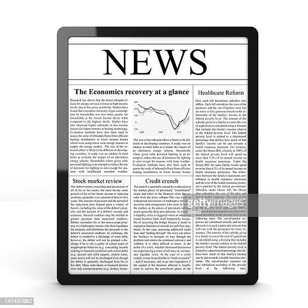 news on tablet pc - western script stock pictures, royalty-free photos & images