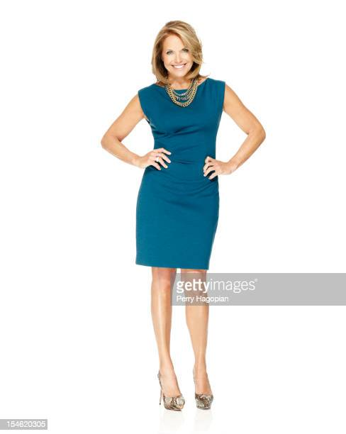 TV news personality Katie Couric is photographed for InStyle Magazine on June 28 2012 in New York City