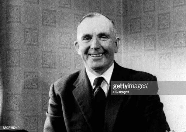 PA News Photo 21/10/74 A library file picture of former executioner Albert Pierrepoint