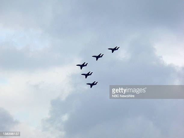 The Imperial War Museum commemorates the 25th Anniversary of the Falklands War with an air show salute in London England on June 17 2007