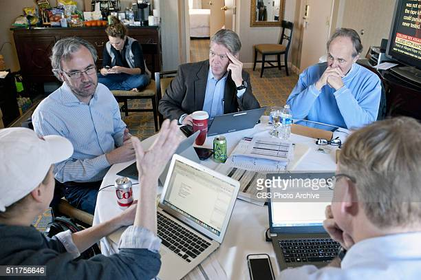News Political Director and FACE THE NATION anchor John Dickerson along with CBS News executive Editor Steve Capus and CBS VP and Washington News...