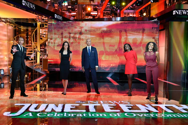 "NY: ABC's ""Juneteenth: A Celebration of Overcoming"""