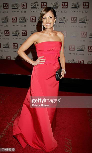 TV news presenter Chris Bath arrives at the 2007 TV Week Logie Awards at the Crown Casino on May 6 2007 in Melbourne Australia The annual television...