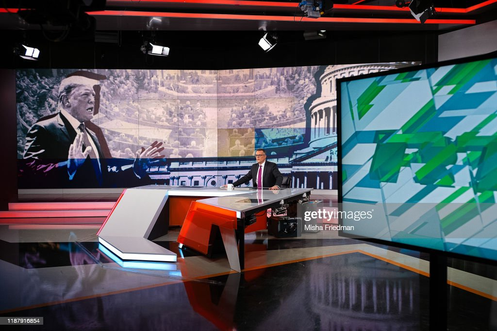 Inside RT Studios In Moscow : News Photo