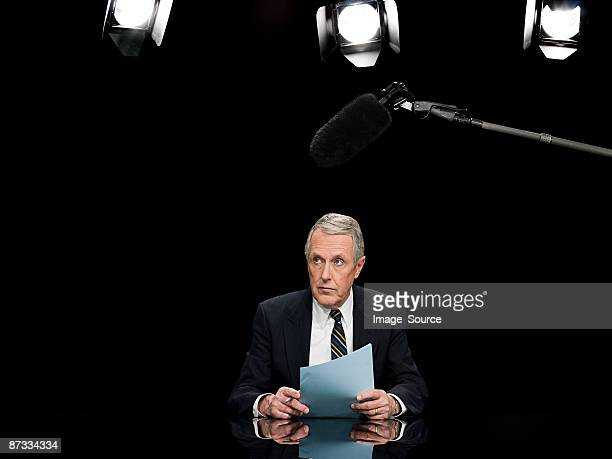 Presentador de noticias