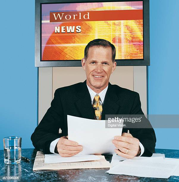 TV News Presenter