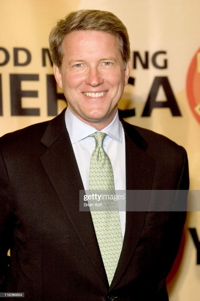 ABC News president David Westin during 'Good Morning America' 30th Anniversary Celebration at Lincoln Center in New York City, New York, United States.