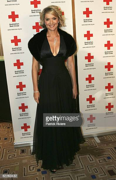 TV news reader Sandra Sully attends the Australian Red Cross 90th Anniversary Gala at the Westin Hotel March 2 2005 in Sydney Australia
