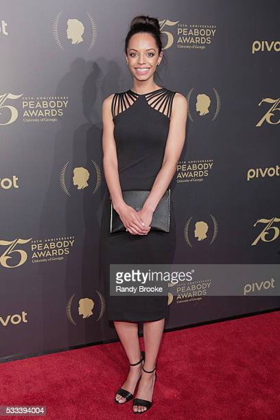 News Reporter Caitlin Dickerson attends the 75th Annual Peabody Awards Ceremony at Cipriani Wall Street on May 21 2016 in New York City