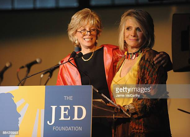 CBS news reporter Lesley Stahl and President of Documentary and Family Programming for HBO and Cinemax Sheila Nevins speak on stage at the 8th Annual...