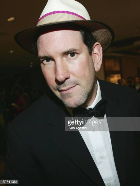 News reporter Matt Drudge attends the White House Correspondents' Dinner at the Washington Hilton Hotel on April 30 2005 in Washington DC