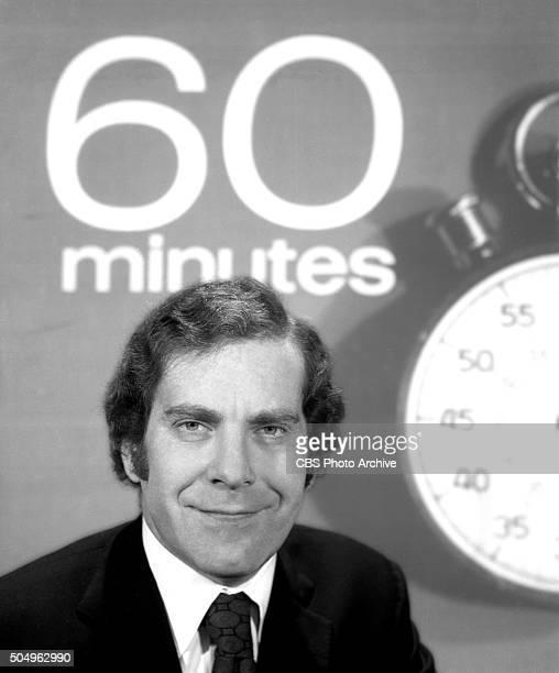 News reporter Morley Safer for 60 Minutes Image dated November 17 1970