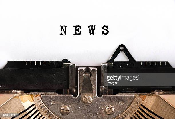 News Schreibmaschine