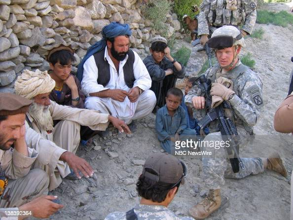 NBC News -- US ARMY IN AFGHANISTAN -- Pictured: Captain ...