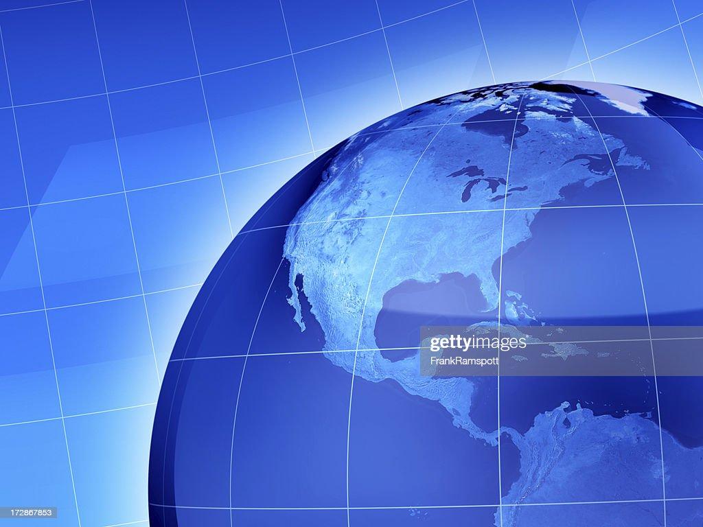 News World Central America : Stock Photo