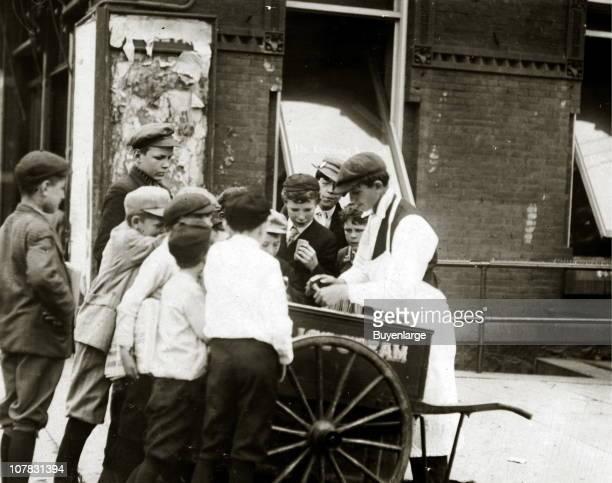 Newsboy profits go to ice cream