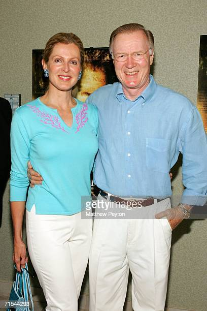 Newscaster Dan Rather and wife Jean Goebel attend a special screening of Hollywoodland at the Southampton U/A Theater on July 30 2006 in Southampton...