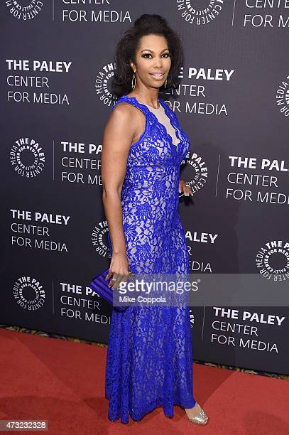 Newscaster Harris Faulkner attends A Tribute To AfricanAmerican Achievements In Television hosted by The Paley Center For Media at Cipriani Wall...