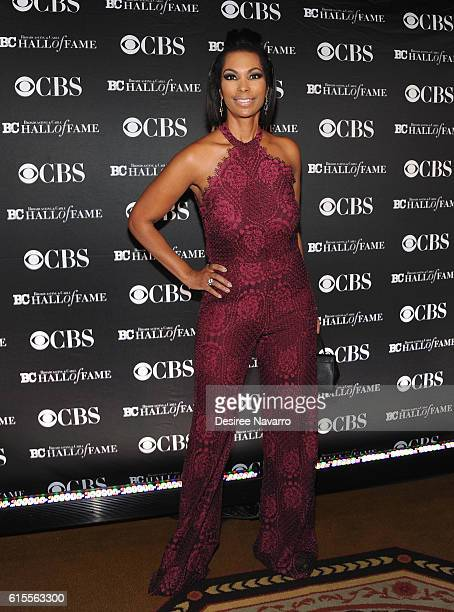 Newscaster Harris Faulkner attends the 2016 Broadcasting Cable Hall of Fame 26th Anniversary Gala at The Waldorf Astoria on October 18 2016 in New...