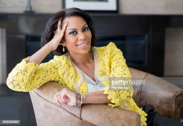 Newscaster Harris Faulkner is photographed for Closer Weekly Magazine on March 22 2017 at home in northern New Jersey PUBLISHED IMAGE
