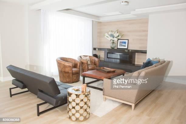 Newscaster Harris Faulkner's home is photographed for Closer Weekly Magazine on March 22 2017 in northern New Jersey PUBLISHED IMAGE