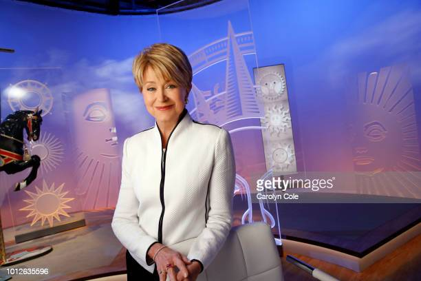 Newscaster Jane Pauley is photographed for Los Angeles Times on April 22 2018 in New York City PUBLISHED IMAGE CREDIT MUST READ Carolyn Cole/Los...