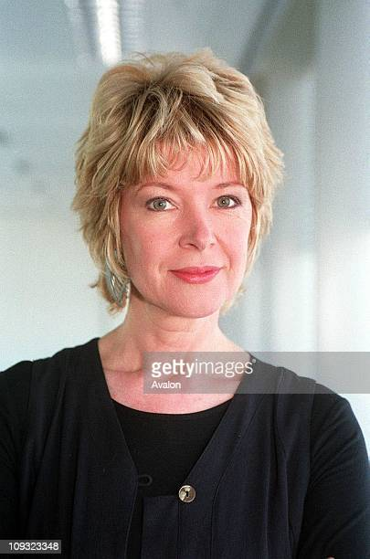 Newscaster Julia Somerville.